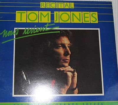 Tom Jones ‎– Récital Tom Jones, Nous Revient...- LP VINYL 1978 MADE IN FRANCE