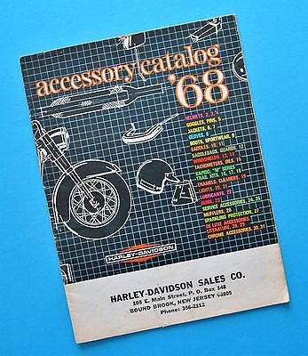 1968 Harley Sportster FLH Duo Glide Electra Glide Motorcycle Accessory Catalog