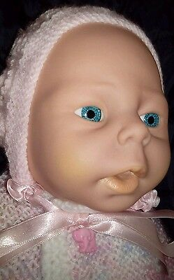 Realistic New Born Premmie Look Baby Doll 46cm Vinyl Body