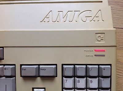 Very Rare Boxed Commodore Amiga 500 Chicken Lips Red LED 1Mb Kickstart 1.2 C=