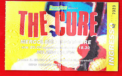 The Cure Concert Ticket Stub 1996 Milan Rare
