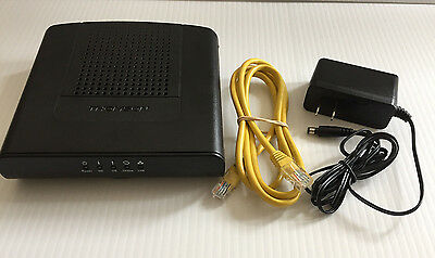 Thomson DCM476 Docsis 3.0 Cable Modem w/ Power Adapter and Ethernet Cable