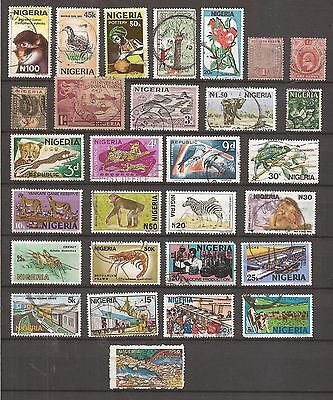 Nigeria  -  Lot Of  Stamps