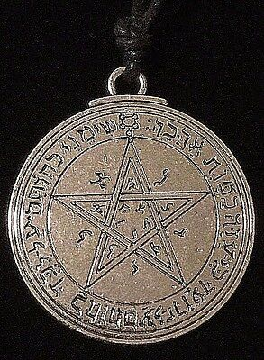 Pentacle of Venus Solomon Seal Talisman Goetic Hermetic Kabbalah Amulet w/Bag!
