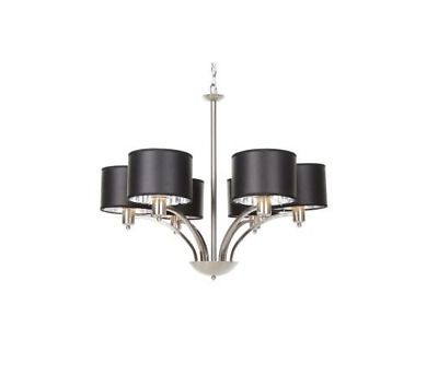 "Murray Collection 6 Light Hang 26.3""x31.5""x31 Brushed Nickel"