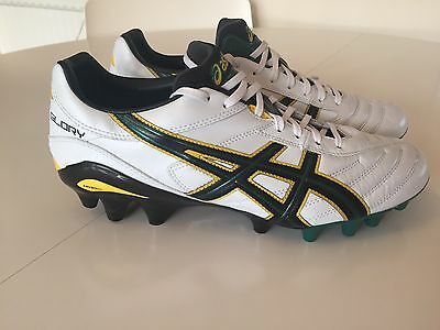 Asics Gel FG Lethal Glory Rugby Football Boots UK 8 Excellent Condition