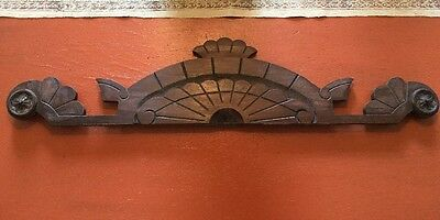 Antique Wooden Pediment Small Lovely