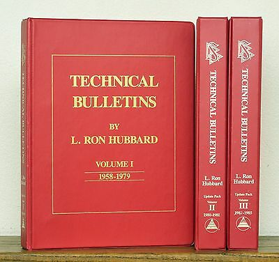 Hard-to-Find Technical Bulletin Update Packs - Scientology