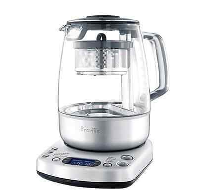 New Stainless One touch Auto Tea Maker Electric Brewer Small Kitchen Appliance