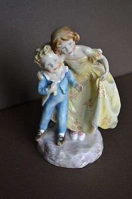 Royal Worcester stunning Figure - Sister - by F Doughty Puce mark c.1939