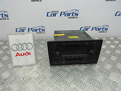 Audi A4 B6 Cabriolet Cd Radio Player