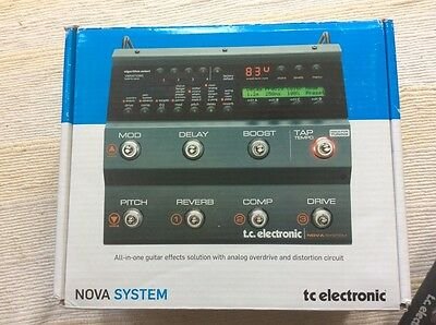 TC Electronic Nova System Analog Overdrive Studio Quality Effects