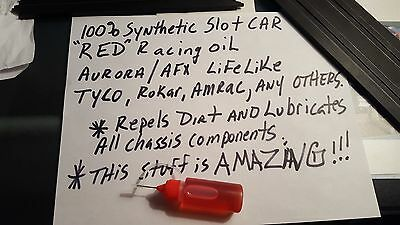 AFX, Aurora,Tyco, Slot Car Oil.  Slot Car Parts