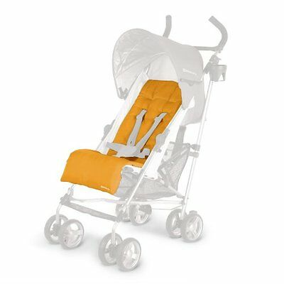 UPPAbaby G-Luxe Umbrella Stroller Replacement Seat Pad Orange Ani