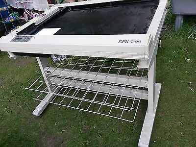 Roland Dpx 3500 Drafting Plotter and Stand