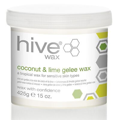 Hive Professional Wax Waxing for Sensitive Skin - Coconut & Lime Gelee 425g Pot