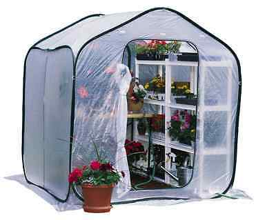 Heavy Duty Outdoor Clear Walk-In Poly Sheeting Plant Greenhouse House Shed Kit