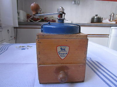 Original Vintage French Peugeot Freres Coffee Grinder Mill