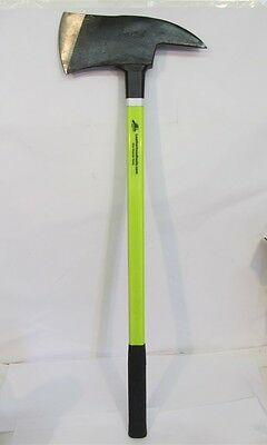 Leatherhead Tools PAL-8, 8 Pound Pick Axe, HiViz Lime, Fiberglass Handle 36""