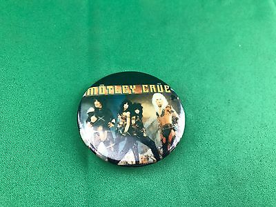 Vintage Motley Crue Heavy Metal Button/pin
