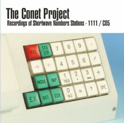 THE CONET PROJECT 'Recordings Of Shortwave Numbers Stations / 1111' [5 × CD set]