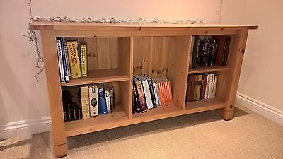 Bespoke solid wood bookcase