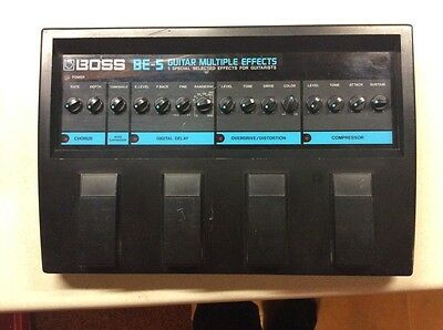 Boss BE-5 analog multieffects power Supply CS3 OS2 DD3 CE3 NS2
