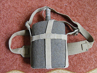 WW2 pattern British Army,Civil Defence,ARP, Home Guard water bottle complete