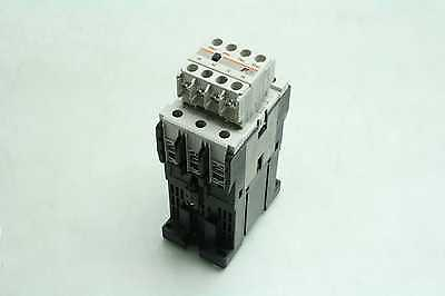 Fuji SC-E1/G Contactor / Starter w SZ-A22/T Auxiliary Contact 110-120V AC Coil