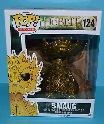 Funko POP! The Hobbit Battle of the Five Armies - Gold Smaug *RARE* Figure