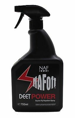 NAF OFF Deet Power Equine Horse & Pony Fly Spray 750ml - **FREE UK Shipping**