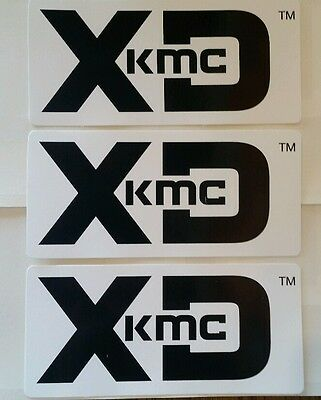 b XD KMC racing decals stickers offroad atv drags dirt mint diesel crawl nhrda