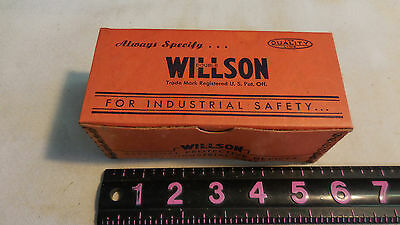 New In Box - 1 Pair Vintage Willson Welder Goggle Replacement Frames -Navy Specs