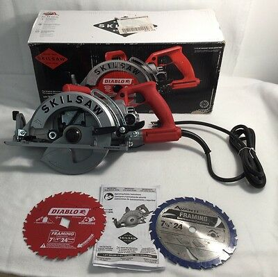 New Skilsaw Spt77 Wm-22 Worm Drive Heavy Duty Circular Saw