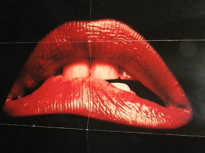 The Rocky Horror Picture Show Poster 10Th Anniversary Edition 1990 Not For Sale
