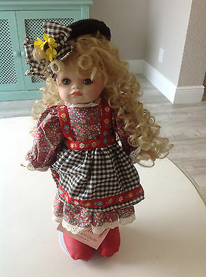 "Enchanted Art Collection Doll 'Muffin"" 15"" no box"