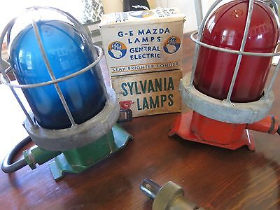 Port and Starboard Ship Lamps Red Light Green Light 2 Boxes Bulbs Included