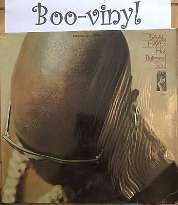 """ISAAC HAYES  """"HOT BUTTERED SOUL""""  VINYL LP RECORD  (STAX RECORDS) Ex Con"""