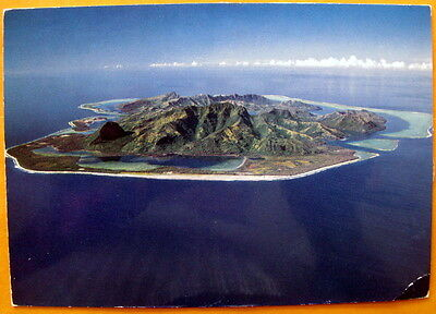 Huahine, French Polynesia South Pacific- unmarked postcard