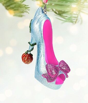 Disney Fairy Godmother Shoe Ornament Tree Decoration, From Cinderella, Bnwt Rare