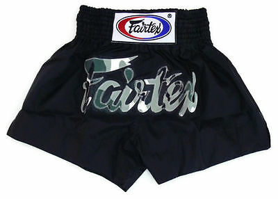 FAIRTEX AUSTRALIA Genuine Fairtex Muay Thai Boxing Shorts Nylon Camo BS0609