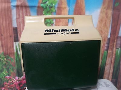 H88 Vintage MiniMate by Igloo Portable Personal Cooler Ice Chest Lunchbox Green
