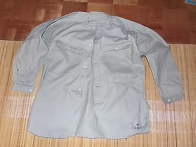 Original Ww2 Imperial Japanese Army Shirt With Govt. Seals And Date-Very Good