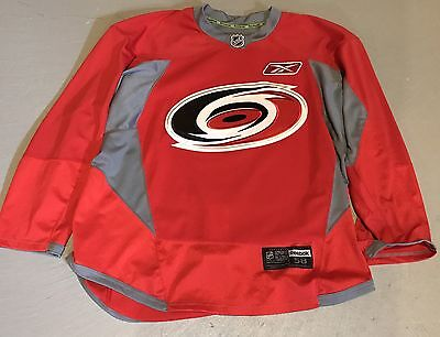 Pro Stock Carolina Hurricanes Authentic Edge 3.0 Practice Jersey Size 58 Red