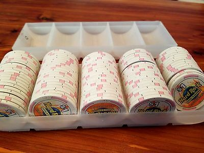 Rack of 100 $1 Hard Rock Casino Albuquerque chipco POKER CHIPS
