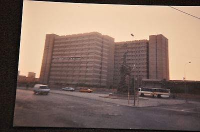 Early Iraq War Photograph 5 X 7 Original 'government Building & Statue Baghdad'