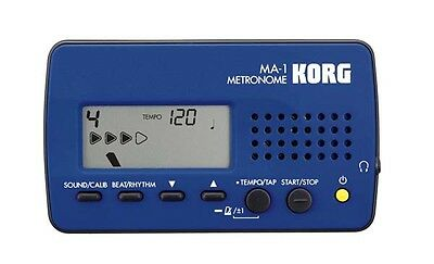 Korg MA1 Digital Metronome Drum Guitar Piano MA1BL - Blue