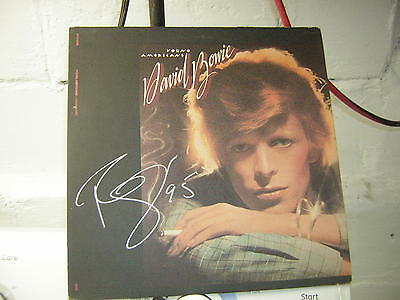 David Bowie Signed Lp Young Americans 1975