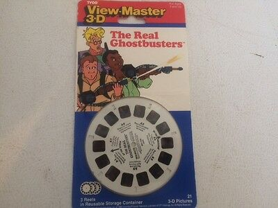 Vintage Tyco View Master 3-D Un-opened Reel  Pack Of Ghostbusters