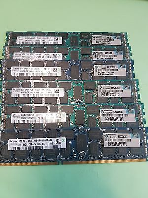 SK HYNIX 8GB 2Rx4 PC3 -12800R HMT31GR7CFR4C-PB -  DDR3 SDRAM DIMMs 8 Available